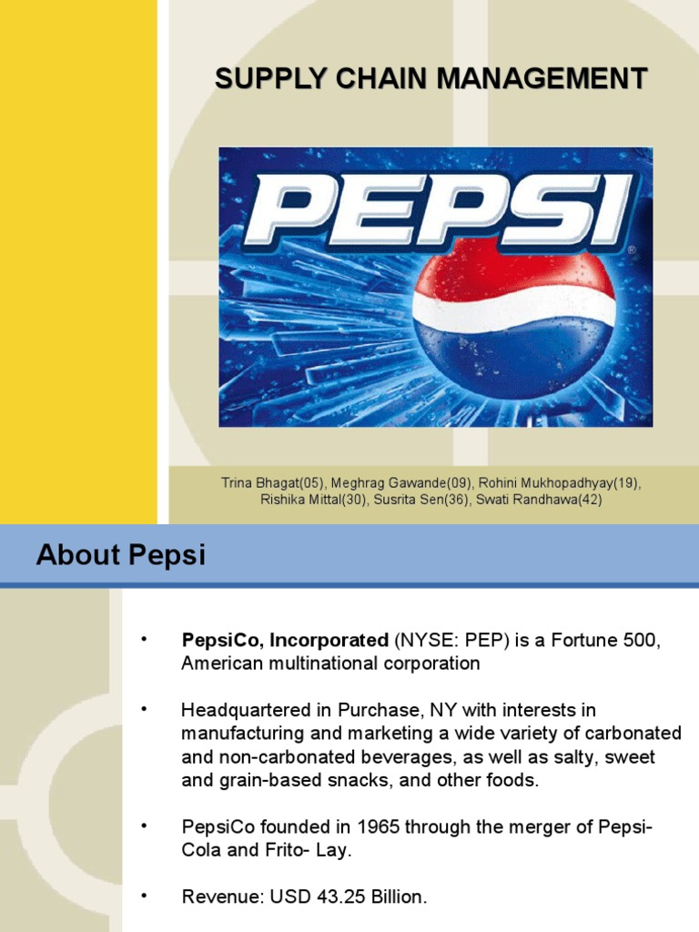 case study of pepsi marketing strategies Innovative and creative marketing strategies are imperative to the success of a brand the best lessons are learned through experience and ama's case study library offers you insights and practical solutions from a wide variety of companies and industries within these case studies you will find .