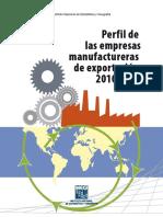 Perfil de Las Empresas Mexicanas Exportadoras 2010 2013
