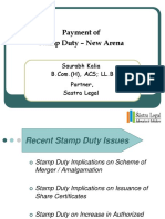 Stamp Duty New Arena