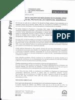 Inei Implementa Conjunto de Indicadores de Economia Verde en El Marco Del Proyecto de Las Cuentas Del Desarrollo