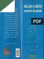SEGUIR a CRISTO - Manual Do Discipulado