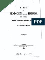 Jacobo.de.La.pezuela. .Sitio.y.rendicion.de.La.habana.en.1762,.1859