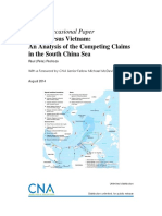 China vs Vietnam an Analyysis of the Competing Claims in the SCS