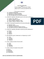 PRUEBA TEXTO Informativo, Carta, Anuncio, Aviso 2 básico