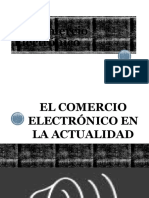 Crecimiento de Comercio Electrónico