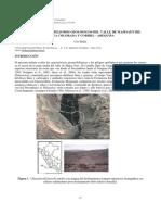 Geomorfología y Peligros Geológicos Del Valle de Majes