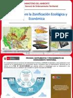 Presentacion Alcances Zonificacion Ecologica Economica