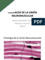 Fármacos de La Unión Neuromuscular