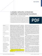 Complex Networks Orchestrate Epithelial–Mesenchymal Transitions (Σημειωμένο)