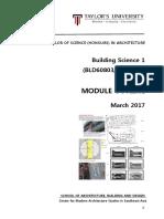 building science 1  bld60803 arc2423  - module outline - aug 2016