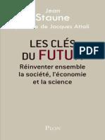 Jean Staune, Jacques Attali-Les Clés Du Futur-Plon (2015)