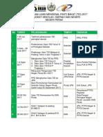 Kronologi Tid Thn 4, 6 & Form1 2017