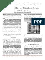 Automated Storage & Retrieval System