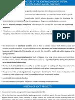 Critical Success Factors of the Boot Procurement System