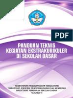 Draft Panduan Teknis Kegiatan Ekstrakurikuler Di SD