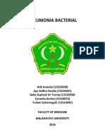 Pneumonia Bacterial