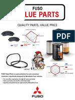 FUSO Value Parts Pricelist en US