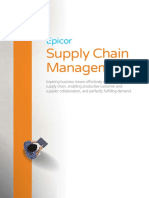 Epicor Supply Chain Management Suite BR ENS