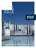 Electrolux Price List 2012 Web