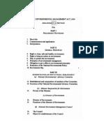 Environmental Management Act, 2004