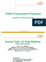 Introduction to Procurement (Course Taster)