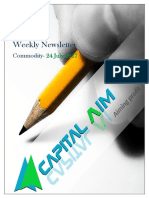Capitalaim Commodity Report