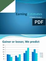Earning Estimates.pptx