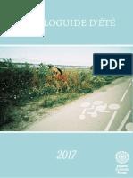 ÉCOLOGUIDE D'ÉTÉ 2017