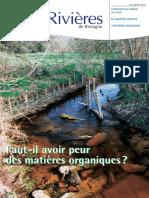 134 Eau & Rivières 134 - Hiver 2005 - Dossier Matières Organiques