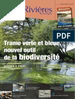 173 Eau & Rivières 173 - Octobre 2015 - Dossier Trame Verte Et Bleue