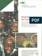 1996 IFA Plantnutrientsfood Security