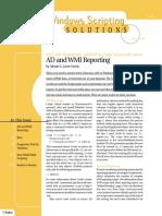 AD e WMI Reporting