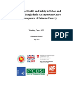 Occupational Health and Safety in Urban and Peri Urban Bangladesh ADD