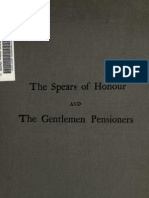 (1912) The Spears of Honour of the Gentlemen Pensioners