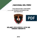 Silabus Orden Abierto II Corregido