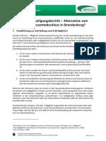 Kommunaler Gesamtabschluss Beteiligungsbericht