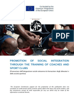 Athlisi-Promozione dell'integrazione sociale attraverso la formazione degli allenatori e delle società sportive