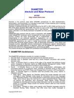 DIAMETE Architecture and Base Protocol