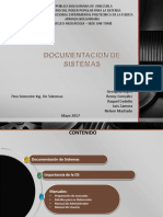 Documentación de Sistemas