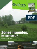 162 Eau & Rivières 162 - Janvier 2013 - Dossier Zones Humides