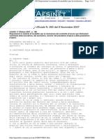 Gazzetta Ufficiale N. 260 Del 8 Novembre 2007- Dimissioni