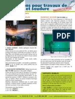 Bâches ignifugées  sinthylene classe M1. Réf. TVE617 À base de tissu de verre enduit de PVC.pdf