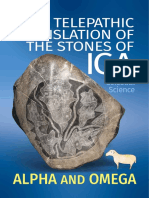 Telepathic Translation of the Stones of Ica