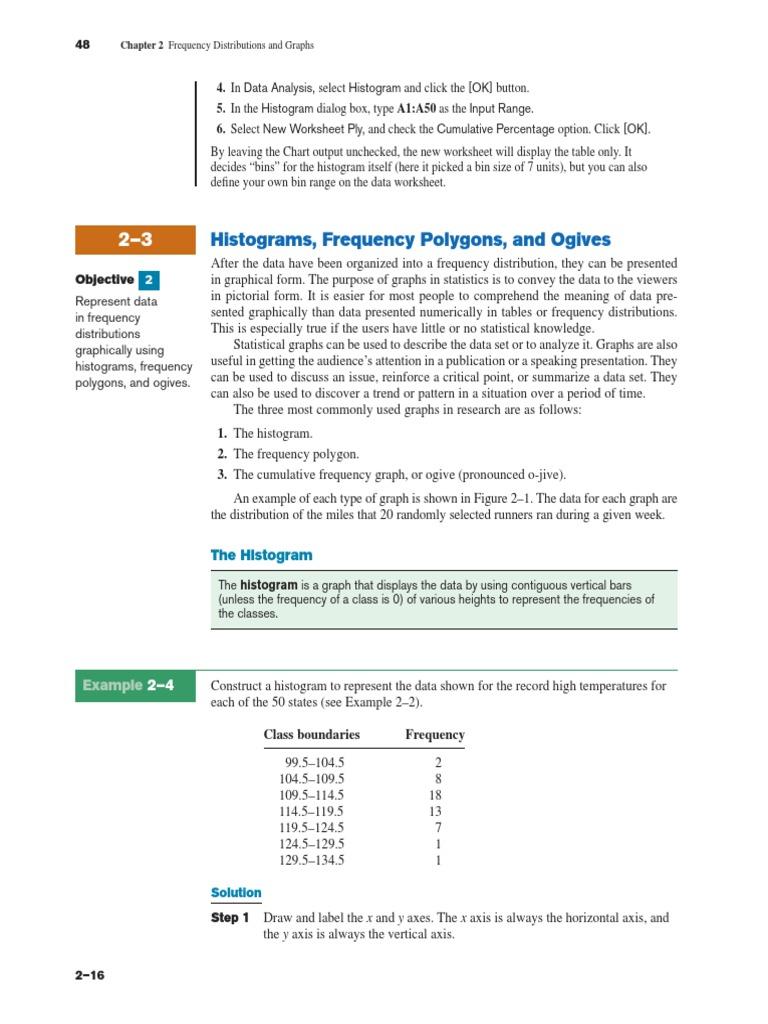 Statistics diagramspdf histogram mode statistics ccuart Choice Image
