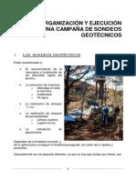 Utilizacion de Tecnicas de Sondeos en Estudios Geotecnicos