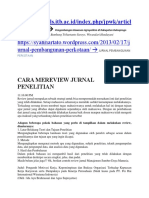 Contoh Critical Review Jurnal