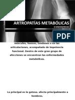 ARTROPATÍAS METABÓLICAS