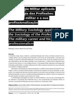 Sociologia Militar aplicada à Sociologia das Profissões