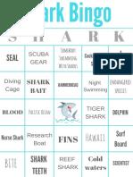 Shark Bingo