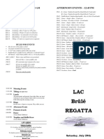 Brûlé Regatta 2017 - Program - Final